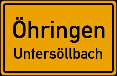 Öhringen Untersöllbach