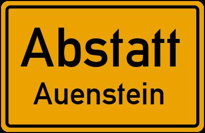 Amselweg in AbstattAuenstein