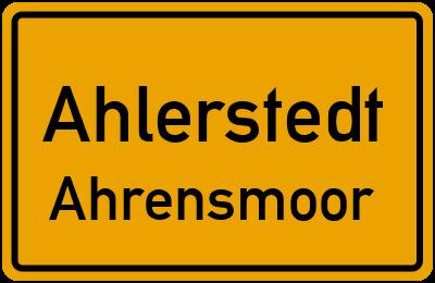 Ahlerstedt Ahrensmoor