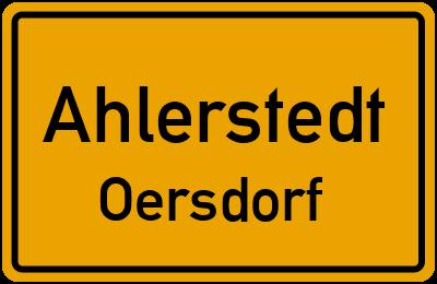 Ahlerstedt Oersdorf