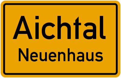 Amselweg in AichtalNeuenhaus