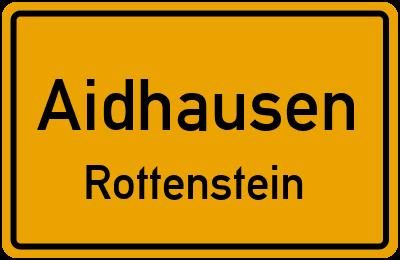Straßenverzeichnis Aidhausen Rottenstein