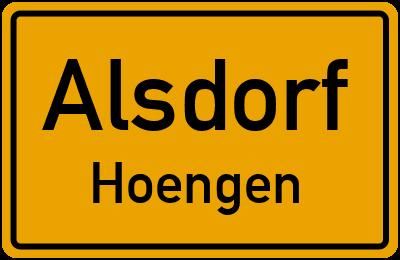Amselweg in AlsdorfHoengen