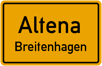 Amselweg in AltenaBreitenhagen