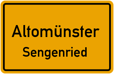 Doktor-Jakob-Scheckh-Straße Altomünster Sengenried