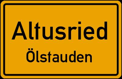 Straßenverzeichnis Altusried Ölstauden