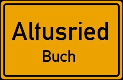 Straßenverzeichnis Altusried Buch