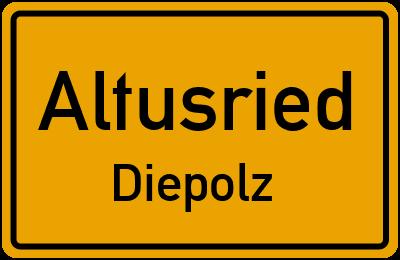 Straßenverzeichnis Altusried Diepolz
