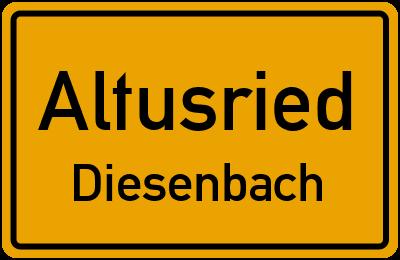 Straßenverzeichnis Altusried Diesenbach