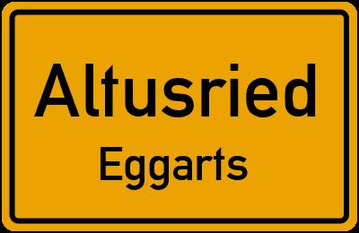 Straßenverzeichnis Altusried Eggarts