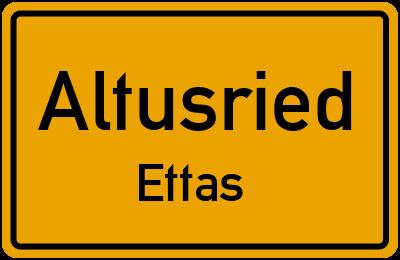 Straßenverzeichnis Altusried Ettas