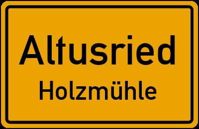 Straßenverzeichnis Altusried Holzmühle