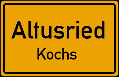 Straßenverzeichnis Altusried Kochs