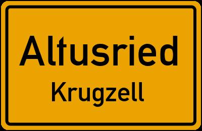 Straßenverzeichnis Altusried Krugzell