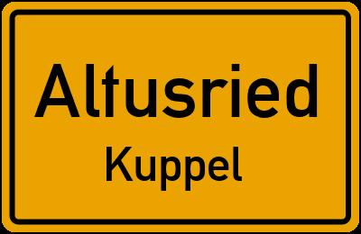 Straßenverzeichnis Altusried Kuppel