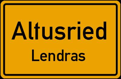 Straßenverzeichnis Altusried Lendras