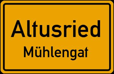 Straßenverzeichnis Altusried Mühlengat