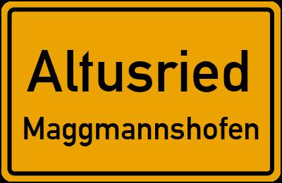 Straßenverzeichnis Altusried Maggmannshofen