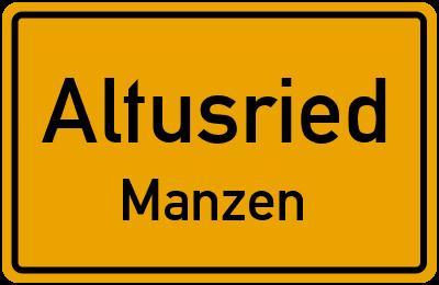 Straßenverzeichnis Altusried Manzen