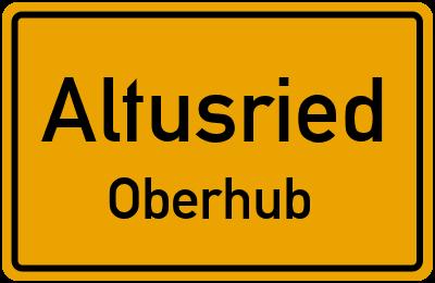 Straßenverzeichnis Altusried Oberhub