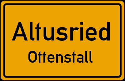 Straßenverzeichnis Altusried Ottenstall