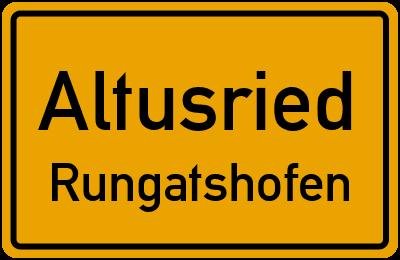 Straßenverzeichnis Altusried Rungatshofen