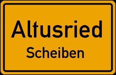 Straßenverzeichnis Altusried Scheiben