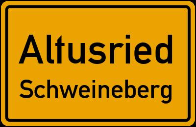 Straßenverzeichnis Altusried Schweineberg