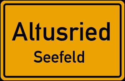 Straßenverzeichnis Altusried Seefeld