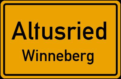 Straßenverzeichnis Altusried Winneberg