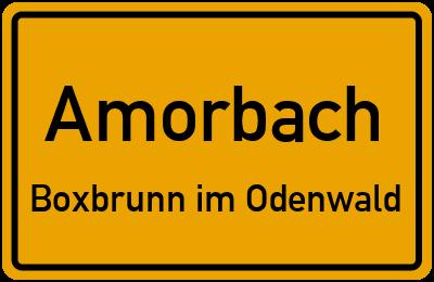 B 47 Amorbach Boxbrunn im Odenwald