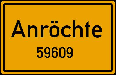 59609 Anröchte
