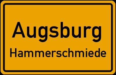 Straßenverzeichnis Augsburg Hammerschmiede