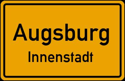 Sterngasse in AugsburgInnenstadt