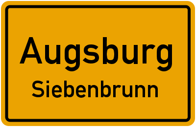 Augsburg Siebenbrunn