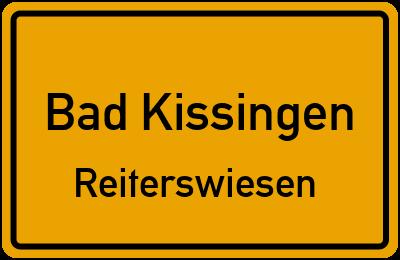 Ortsschild Bad Kissingen Reiterswiesen