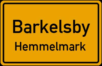 Gutsweg in BarkelsbyHemmelmark