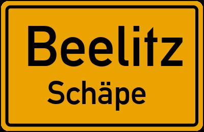 Schäpe in BeelitzSchäpe