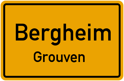 Weststraße in BergheimGrouven