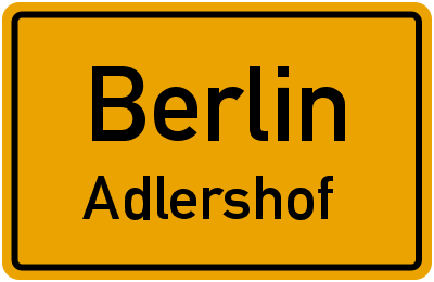 Berlin Adlershof
