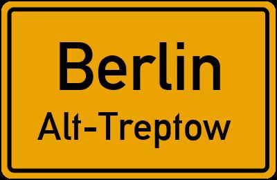 Straßenverzeichnis Berlin Alt-Treptow