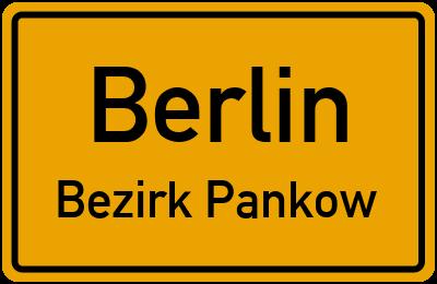 Straßenverzeichnis Berlin Bezirk Pankow