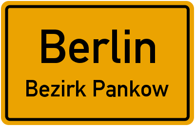Berliner Straße in BerlinBezirk Pankow