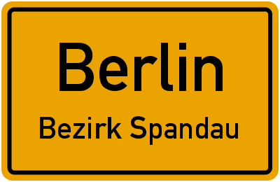 Berlin Bezirk Spandau