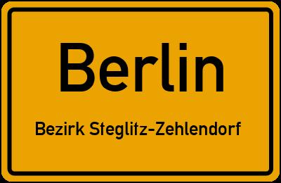 Herderstraße in BerlinBezirk Steglitz-Zehlendorf