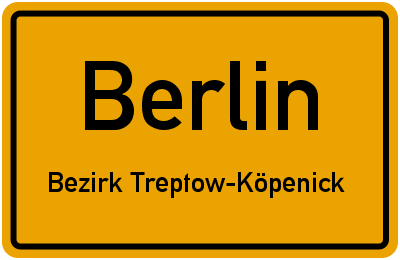 Waldstraße in BerlinBezirk Treptow-Köpenick