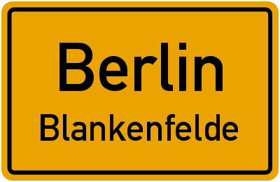 Straßenverzeichnis Berlin Blankenfelde