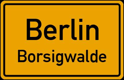 Straßenverzeichnis Berlin Borsigwalde