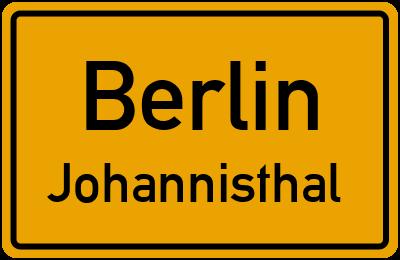 Straßenverzeichnis Berlin Johannisthal