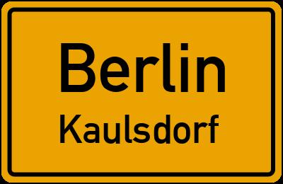 Straßenverzeichnis Berlin Kaulsdorf